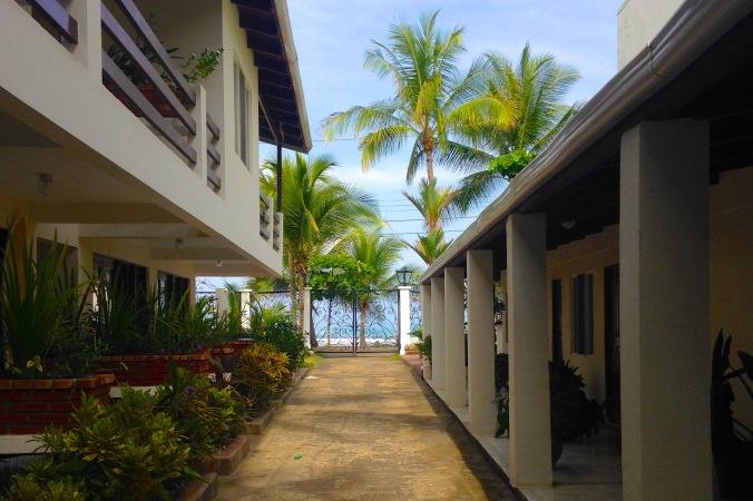 Walkway at Hotel Catalina