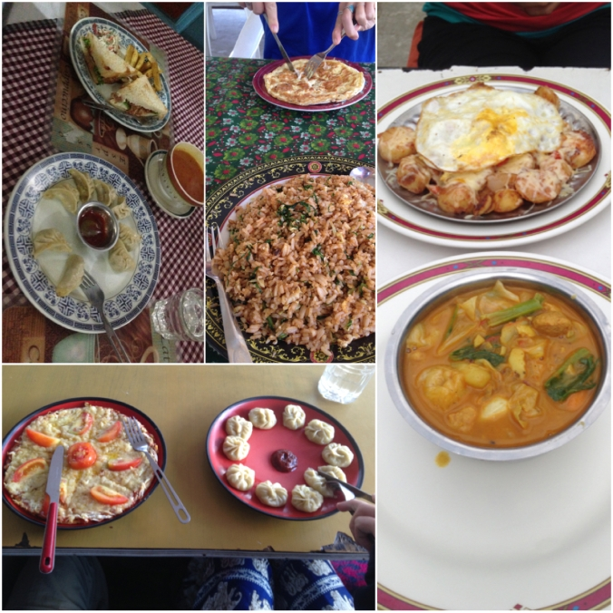 Some of the food we've been eating