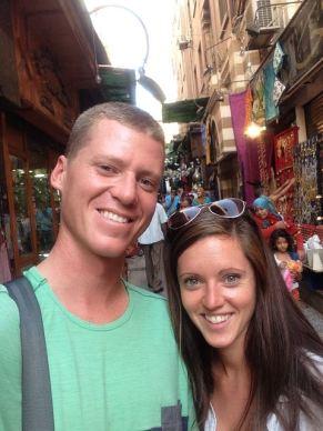 Selfie at the bazaar!