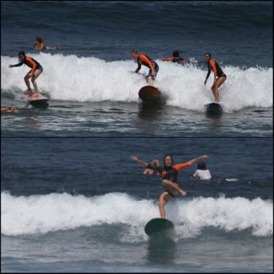 Surf goof
